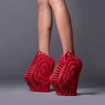 schuhe 3d drucker shoes 3d printing4 150x150 - 3D-gedruckte Schuhmode auf der Milan Design Week