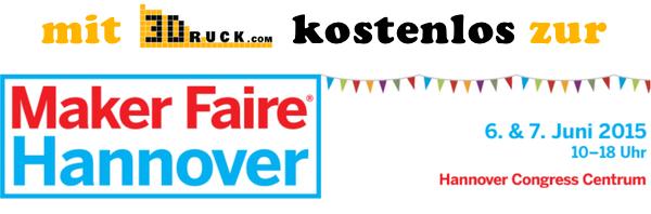 MakerFaire Hannover Banner