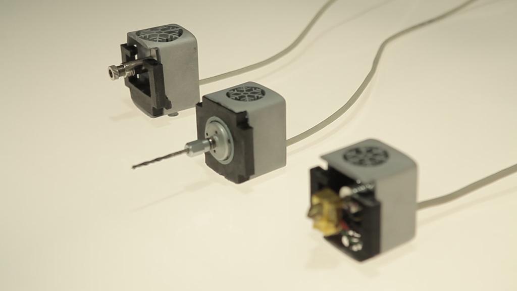 Aufsätze für Laser, Fräse und 3D-Drucker