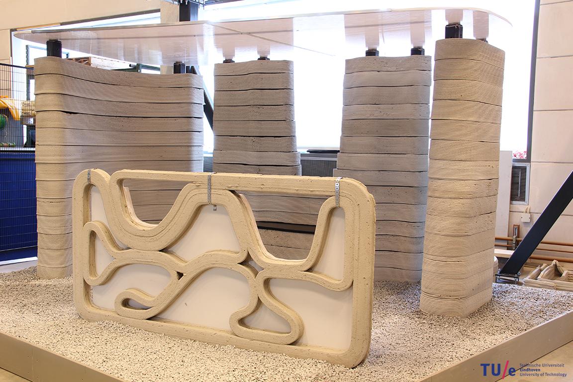 tu eindhoven erforscht 3d druck von beton update. Black Bedroom Furniture Sets. Home Design Ideas