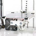 HT500 Print Bed 1024x683 150x150 - Kühling&Kühling HT500 bringt 500°C Extruder für mehr Materialvielfalt - Update: Version 2