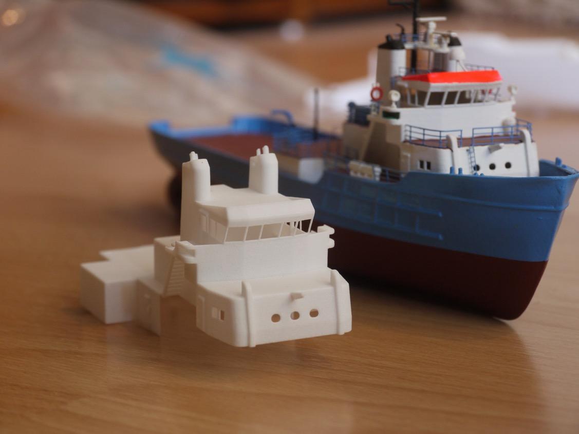 Selbst Hergestellter Modellbausatz Aus Dem 3d Drucker