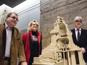 Herr Steffen Poser (Museumsdirektor, Völkerschlachtdenkmal), Frau Petra Wallasch (Geschäftsführerin, Rapidobject), Dr. Volker Rodekamp (Direktor, Stadtgeschichtliches Museum Leipzig)