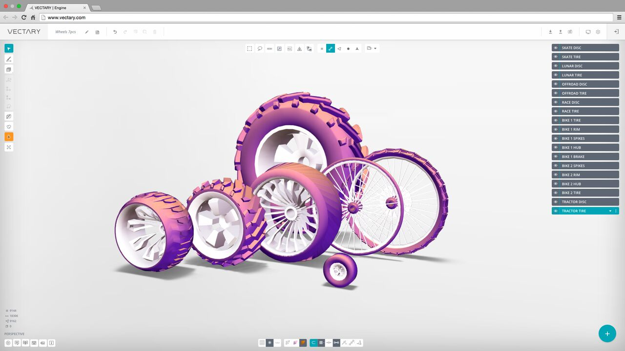 Vectary einfaches erstellen und bearbeiten von 3d Create a blueprint
