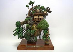3D print Art Oliver Ende Neuroleptischer Urwaldgrummler