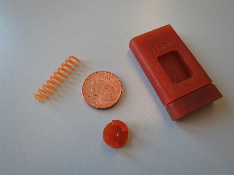 Kleine, präzise gearbeitete 3D-Objekte mit guten Materialeigenschaften und sauberer Oberfläche; Bild: TU Wien