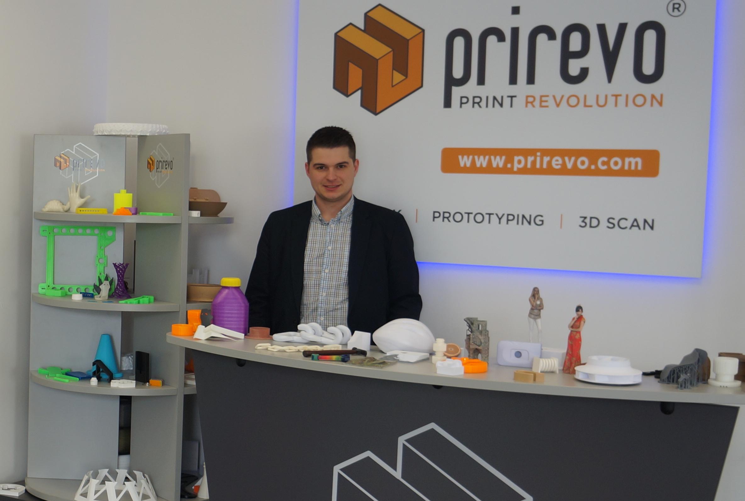 Szilard Molnar, Gründer und Geschäftsführer von Prirevo