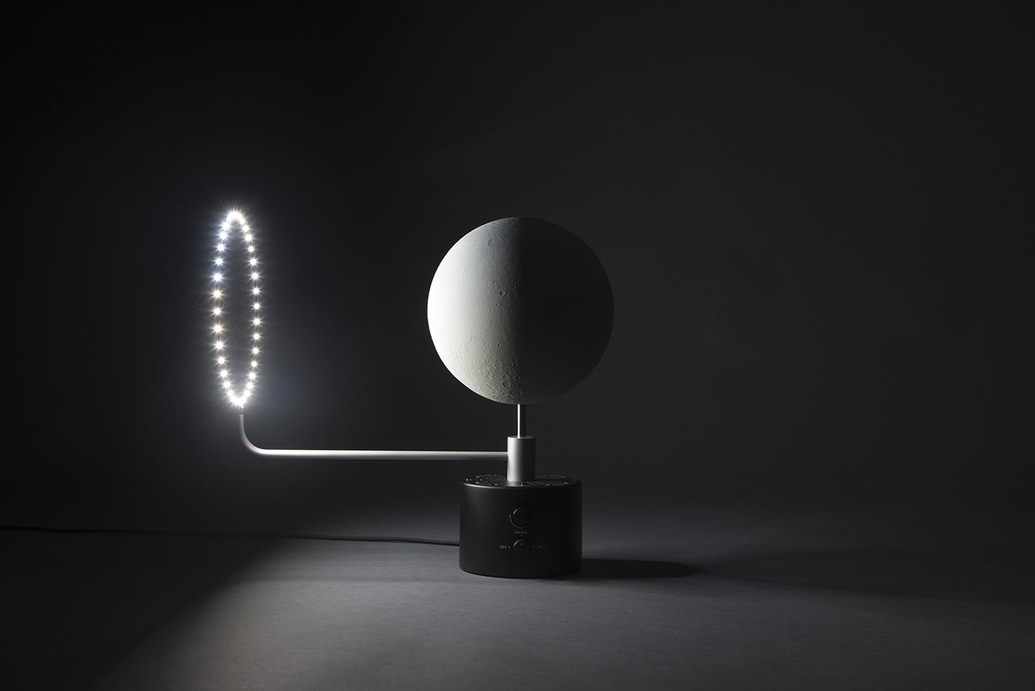 Der Mond Als Skulptur F 252 R Deinen Schreibtisch 3druck Com