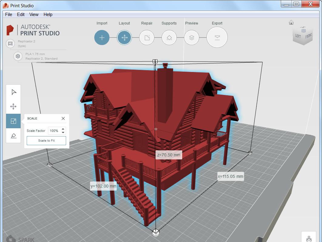 Autocad 2017 bietet volle 3d druck unterst tzung mit print for Sessel 3d dwg