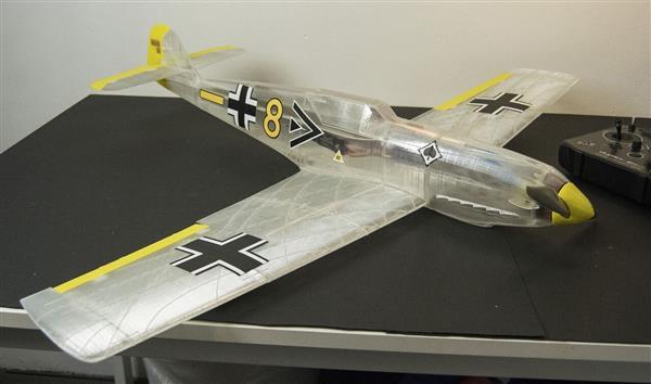 Messerschmitt Modellflugzeug Aus Dem 3d Drucker