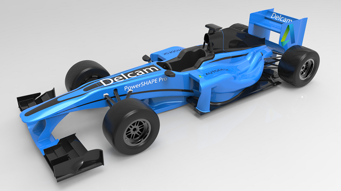 Artec3D_Finished F1 car