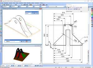DesignCAD-3D-MAX-v25_Screenshot_Bemaßung