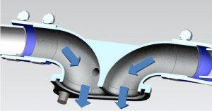 CAD Einlassstutzen