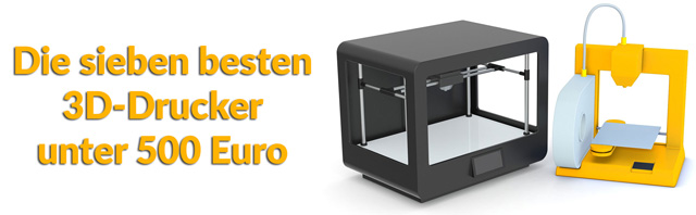 die 7 besten 3d drucker unter 500 euro. Black Bedroom Furniture Sets. Home Design Ideas
