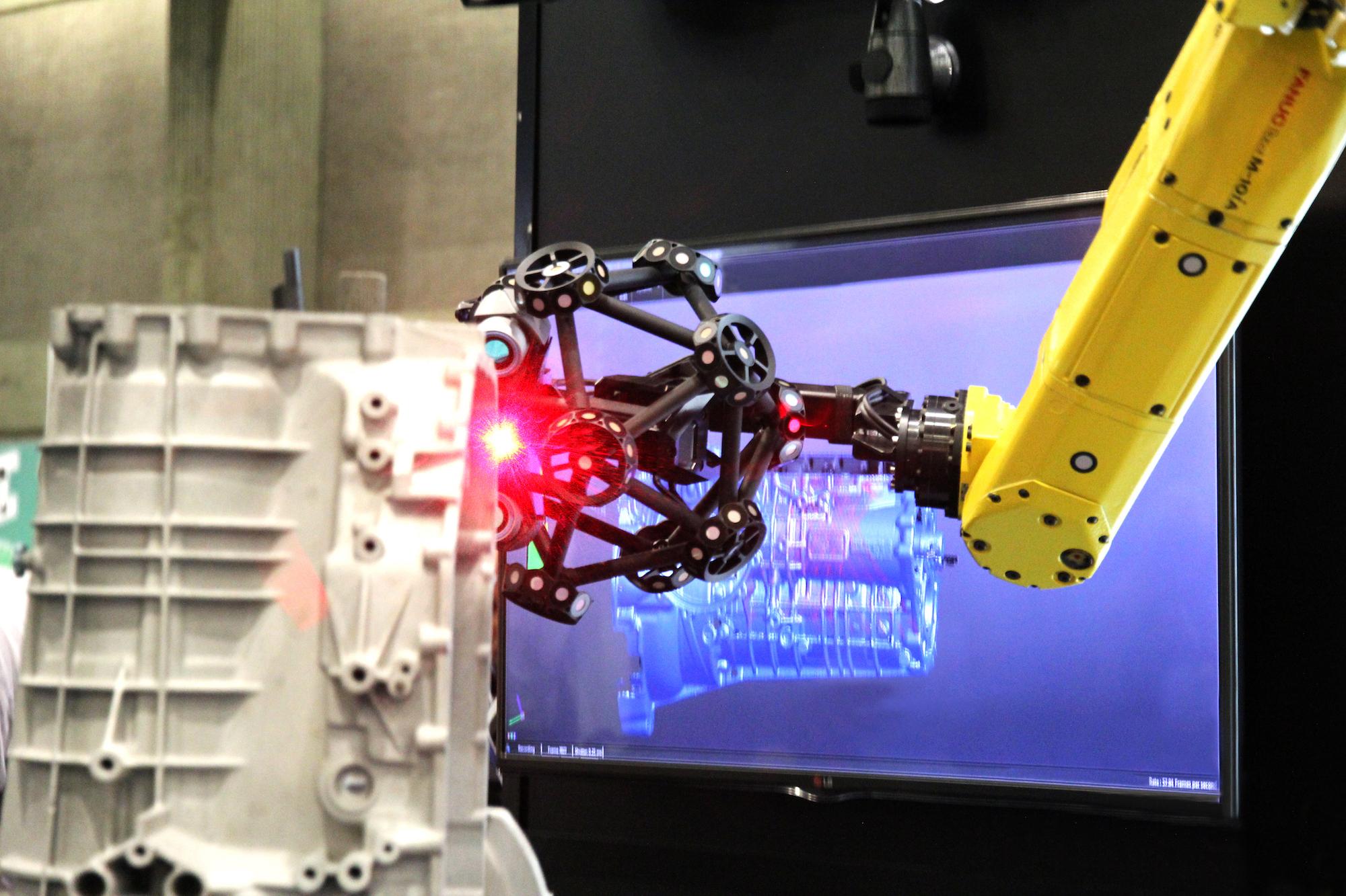 Automatisierung der Messtechnik – Automatisierte Teileprüfung durch ein robotergeführtes optisches CMM