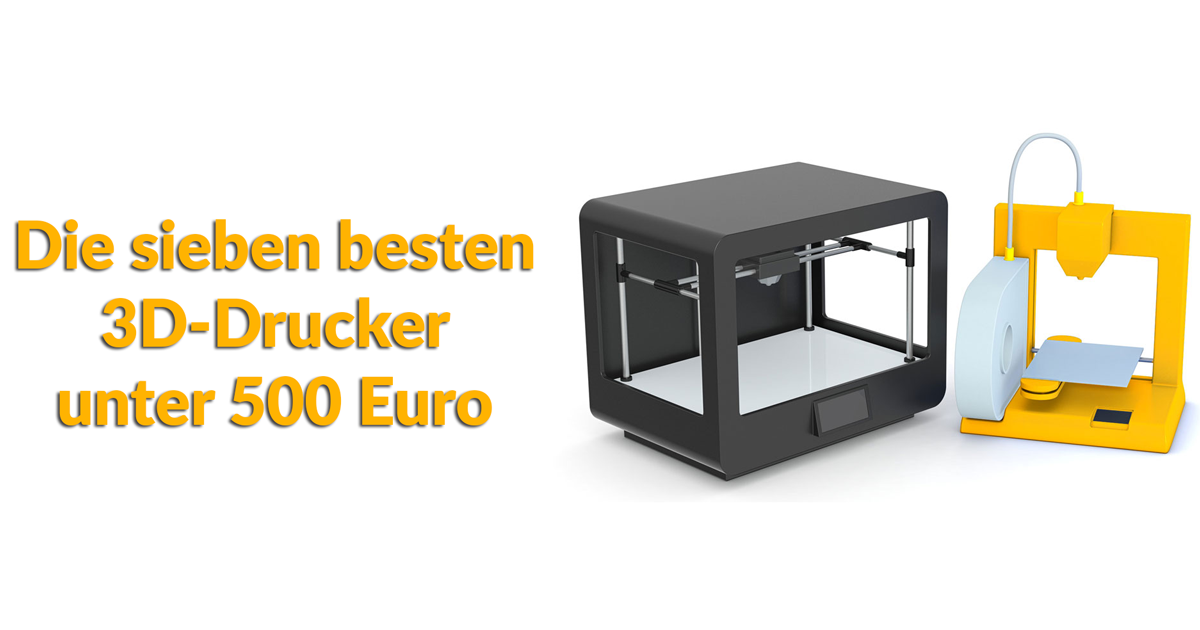 die 7 besten 3d drucker unter 500 euro update 2018. Black Bedroom Furniture Sets. Home Design Ideas