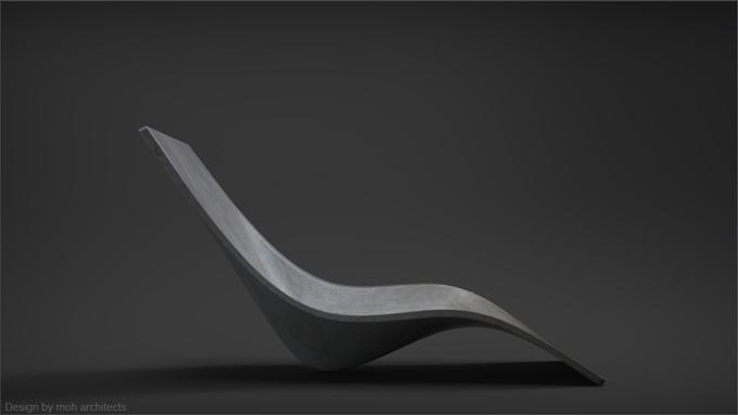 Concise stellt design betonm bel am 3d drucker her - Designer betonmoebel innen aussen ...