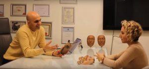 04 Artec 3D Dr. Yakup Avsar bespricht einen bevorstehenden Eingriff 300x139 - 3D-Scanner in der Medizin: Segen für Mensch und Tier