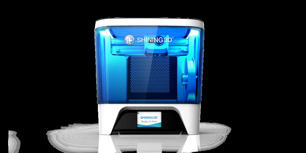 Einstart C 3d printer shining3d - Shining3D stellt Einstart-C 3D-Drucker und Einscan-Pro+ 3D-Scanner auf CES 2017 vor