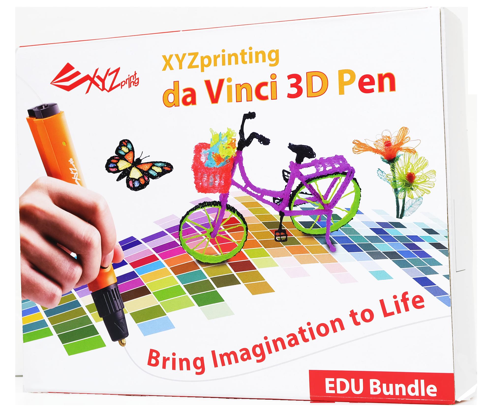 da vinci 3d pen education package - XYZprinting präsentiert neue 3D-Drucker auf CES 2017 - Update