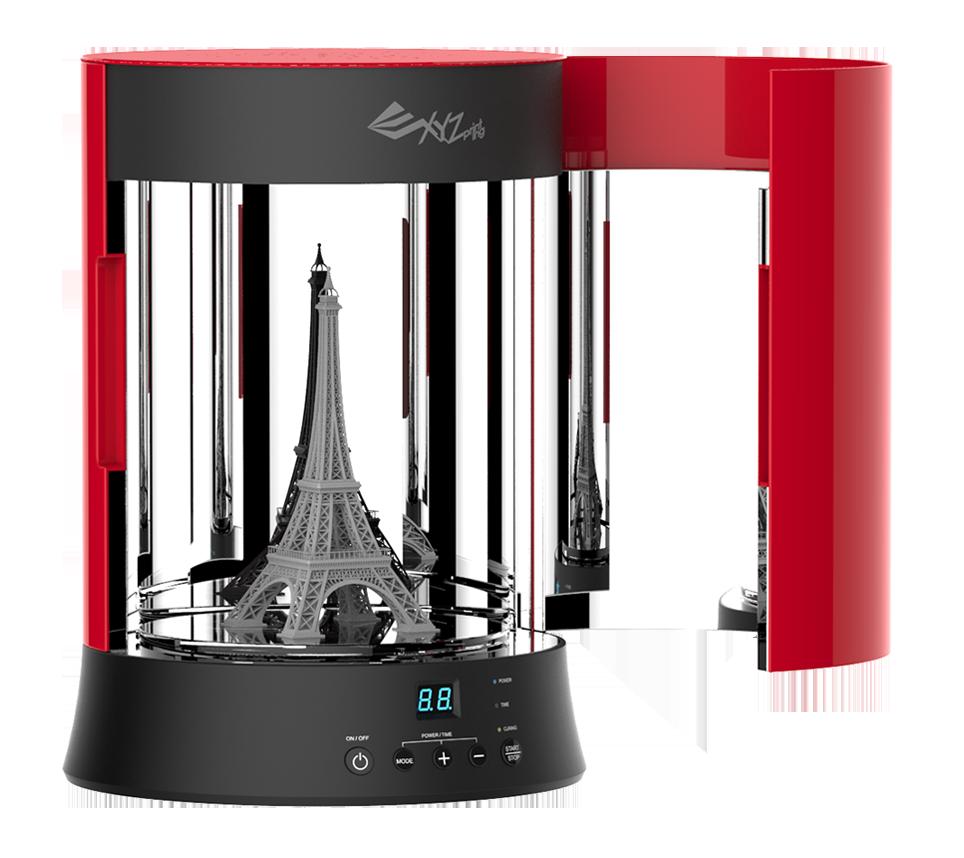 xyzprinting uv curing chamber - XYZprinting präsentiert neue 3D-Drucker auf CES 2017 - Update