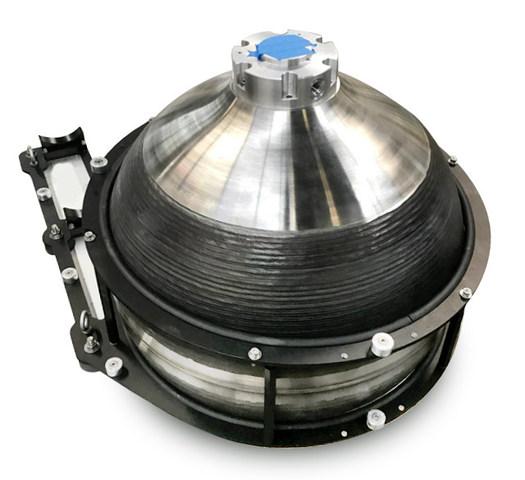 Titanium Ballast Tank 3D Printed Sciaky - 3D gedruckter Wassertank aus Titan für Unterwasserdrohne