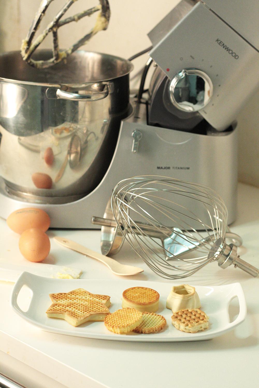 Wasp Food 1 - Glutenfreie Lebensmittel aus dem 3D-Drucker