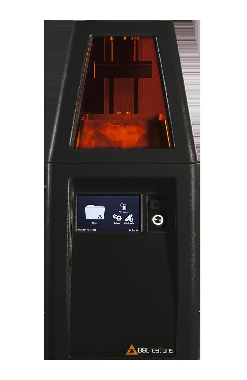 b9 core 3d drucker - Hersteller B9Creations präsentiert B9 Core DLP-Drucker Serie
