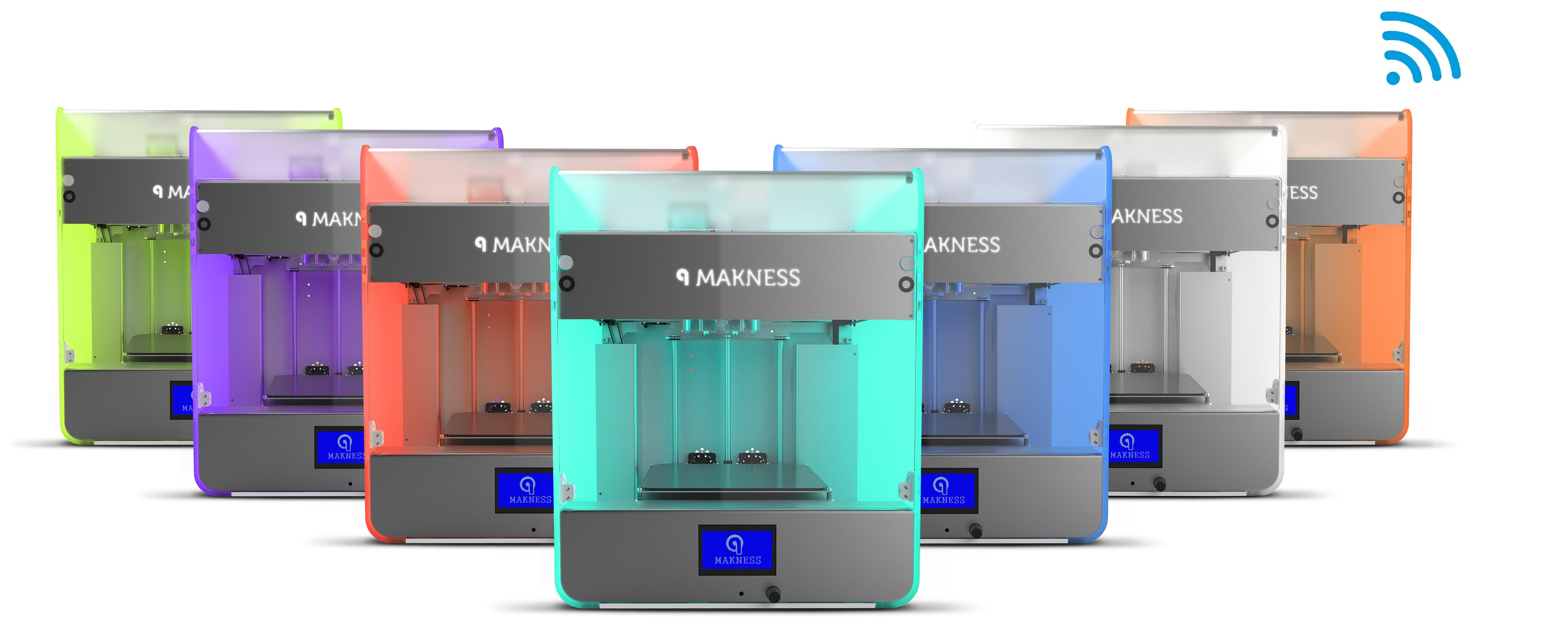 makness 3d drucker mki - Makness stellt MK I Dual-Extruder Desktop 3D-Drucker mit Filament-Kapsel-System vor