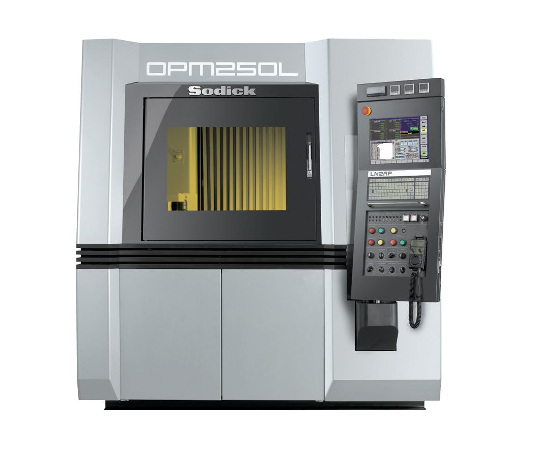 opm250l sodick 3d druck - Parallel Mode von Sodick erhöht Produktionsgeschwindigkeit von OPM250L Metall-3D-Drucker