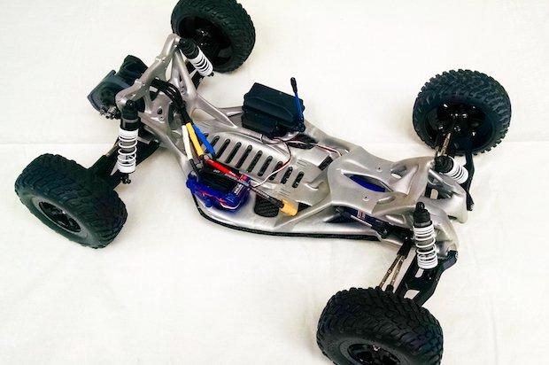 Concept Laser metal chassis race car - Concept Laser und GoEngineer kündigen Partnerschaft an