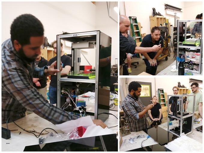 Moai SLA 3D Drucker Kickstarter - SLA 3D-Drucker für das Volk - Peopoly Moai ist auf Kickstarter gestartet