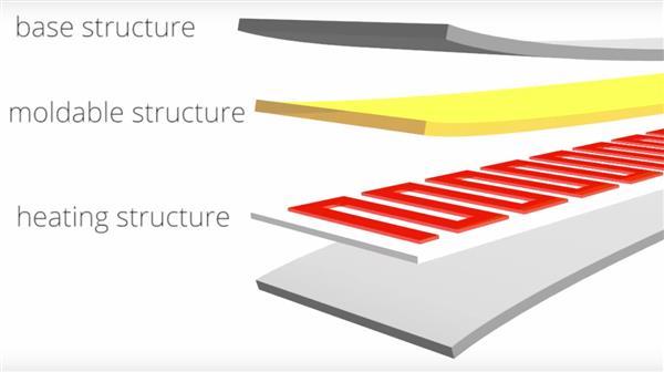hotflex 3d gedrucktes element2 - Hotflex Element macht 3D-gedruckte Objekte verformbar