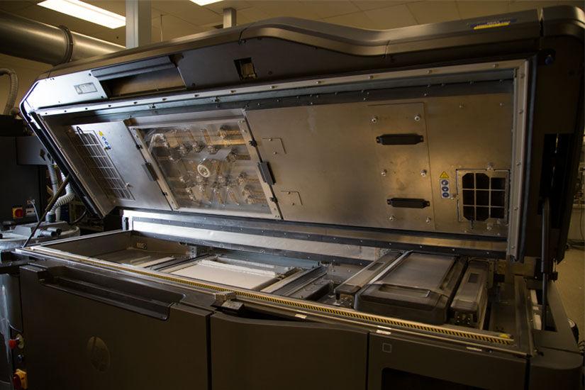 hp multi jet fusion 3d drucker materials lab1 - HP eröffnet Testlabor für Hersteller von 3D-Druckmaterialien