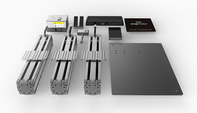 m components - 3D Druck, CNC Fräse und Lasergravierer - Snapmaker auf Kickstarter - Update: enormer Erfolg