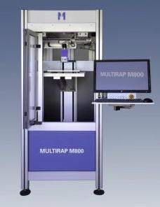 multec - Multec Industrie-3D-Drucker M800 mit Mehr-Material-Druckkopf auf der Hannover Messe