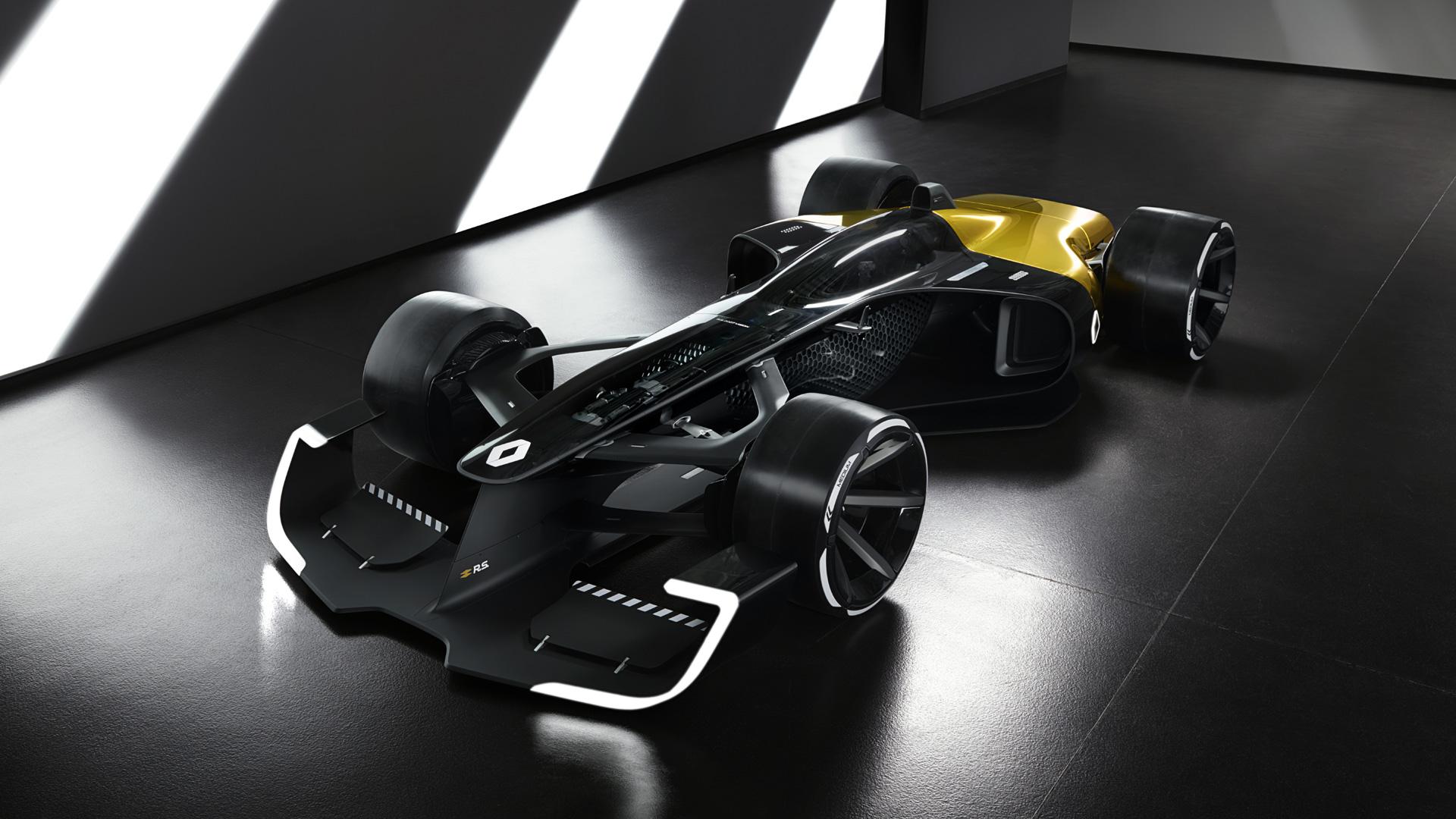 Renault setzt 3D-Druck für Formel-1 Concept Car ein - 3Druck.com