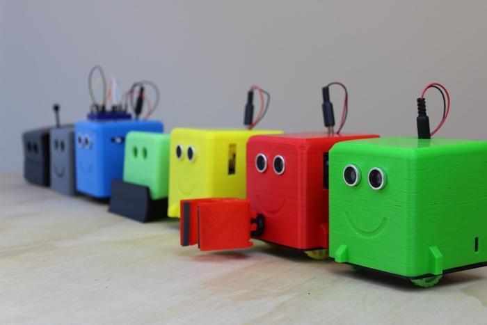slant robotics entwickelt 3d gedruckten lern roboter f r kinder. Black Bedroom Furniture Sets. Home Design Ideas