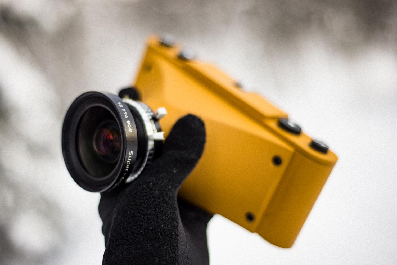 Fotograf 3D-druckt High-End-Kamera \
