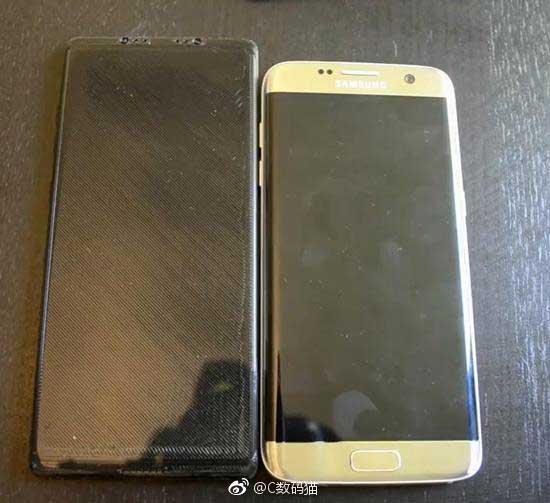 GalaxyNote8 1 - 3D-gedrucktes Modell des Galaxy Note 8 gibt Vorgeschmack auf das neue Smartphone
