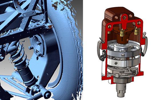 Motor rsl - 3D-Scanning und CAD-Modellierung helfen bei der Rekonstruktion eines 1952 Ferrari
