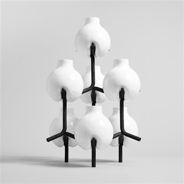 OTHR Tulip - Designstudio OTHR präsentiert eine Reihe 3D-gedruckter Vasen bei NY Collective Design Fair