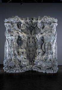 h%C3%B6hle2 208x300 - Architekten stellen 3D-gedruckte Höhle aus Sandstein in Pariser Museum aus