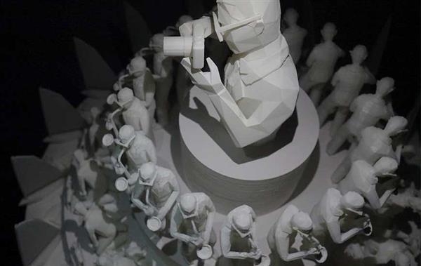 junma1 - Thailändischer Künstler erschafft 3D-gedrucktes Zoetrope