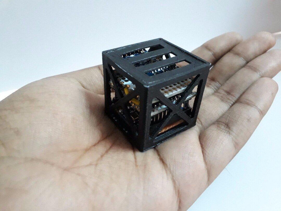 kalamsat 3d gedruckter kleinsatellit - 18-Jähriger stellt weltweit leichtesten Satelliten am 3D-Drucker her