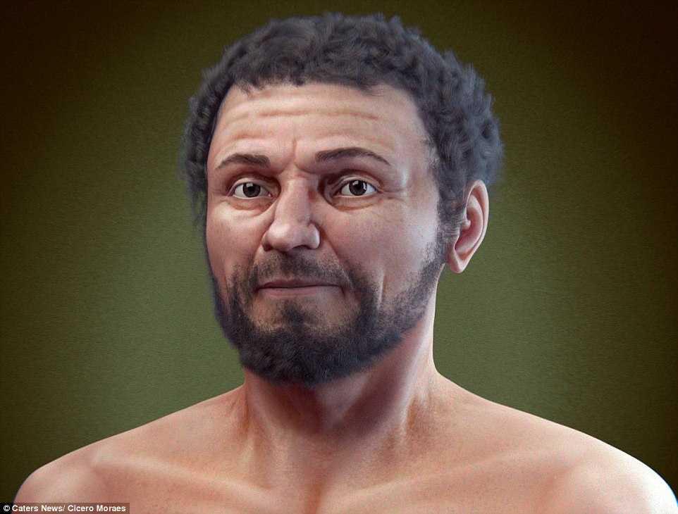 3D scan schaedel rekonstruktion2 - 3D-Technologie ermöglicht Gesichtsrekonstruktion von 2000 Jahre altem explodierten Schädel