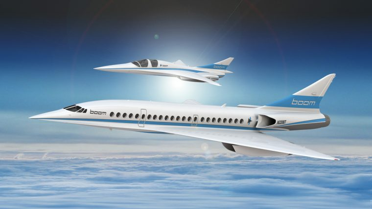 boom ueberschallflugzeug 3d druck - Boom Supersonic setzt auf 3D-Druck von Stratasys für Entwicklung von Überschallflugzeugen