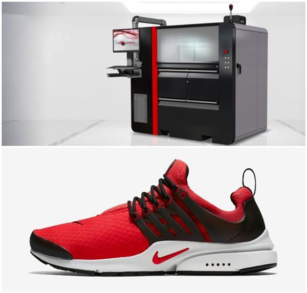 Nike verwendet Prodways TPU für 3D gedruckte Schuhe