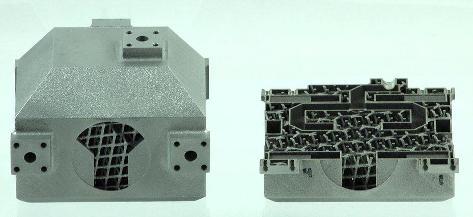 optisys 3d druck antennen - Antenne aus zuvor 100 Teilen in einem einzigen Stück am 3D-Drucker hergestellt