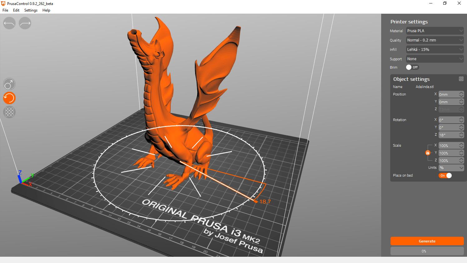 Prusacontrol: Neuer verbesserter Slicer für Prusa 3D-Drucker